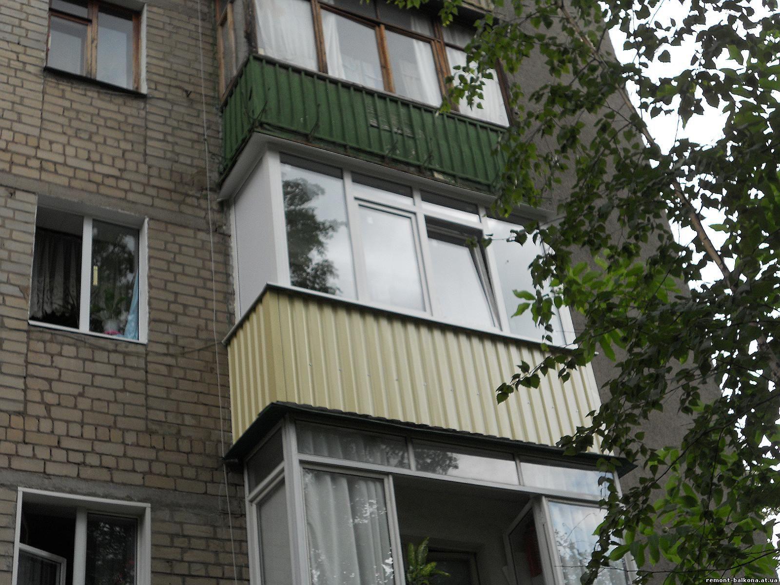 Предложение: наружная отделка балконов и лоджий, город росто.